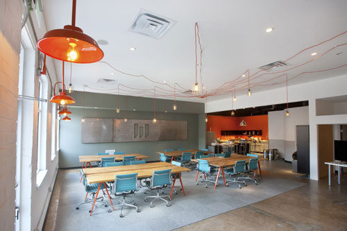 Modern Coworking: WELD Collaborative Work & Studio ...