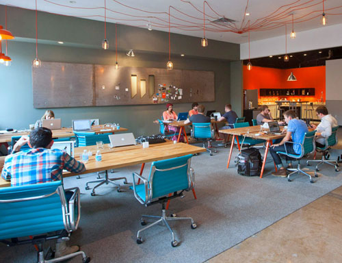 Modern Coworking: WELD Collaborative Work & Studio Space in main interior design  Category