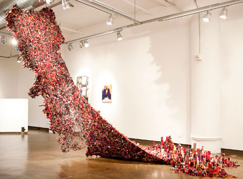 Magazine and Newspaper Sculptures by Yun Woo Choi in art  Category