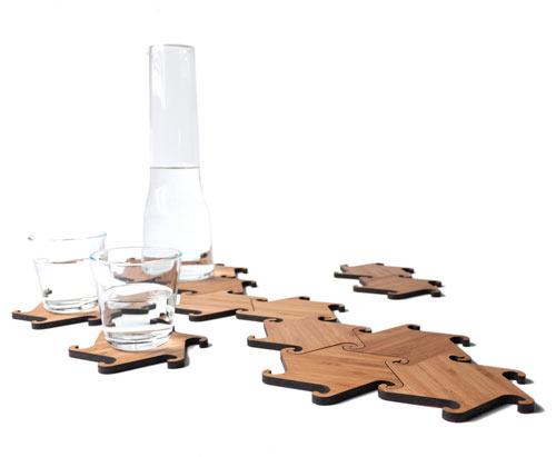 Zesch Interlocking Coasters by Michiel Cornelissen Ontwerp in main home furnishings  Category