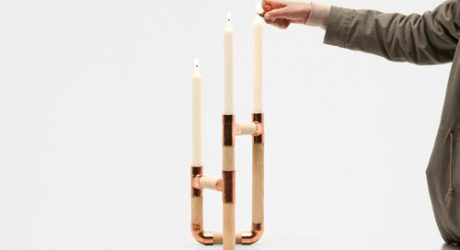 Candelabro by Jorge de la Cruz and Vernaza Gonzenbach