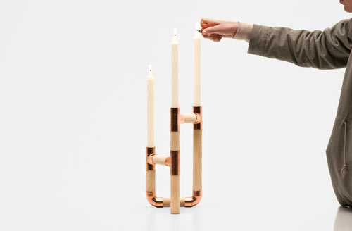 Candelabro by Jorge de la Cruz and Vernaza Gonzenbach in home furnishings  Category