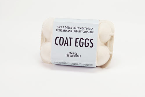 Coat Eggs by Daniel Schofield