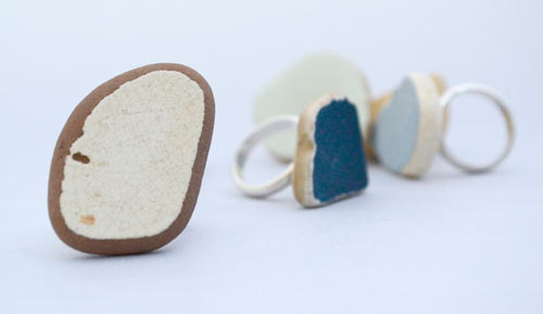 Construction Waste Rings by Noga Berman in style fashion main  Category