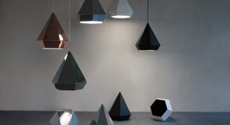 Diamond Lamps by Sebastian Scherer