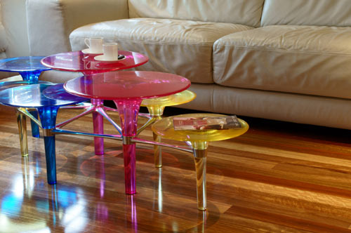 Disco Volante Coffee Table by Simon Colabufalo in main home furnishings  Category