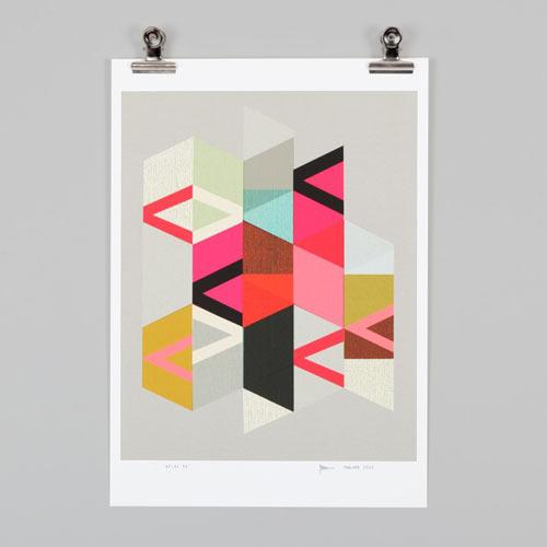 Endemic world modern graphic posters design milk for Modern art prints posters