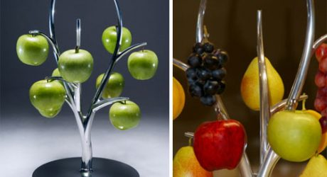 Eva Fruit Hanger by Simon Colabufalo