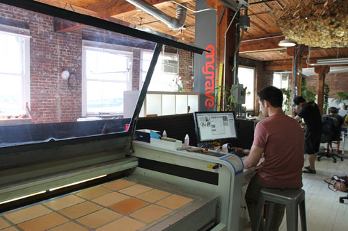 Where I Work: Ken Tomita of Grove in technology interior design  Category