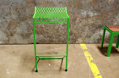 The Howard Stool by RAD Furniture in main home furnishings  Category