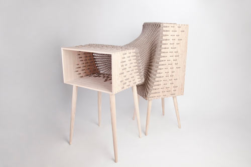 Experimental Hybrid Textile Furniture by Kata Mónus in main home furnishings  Category