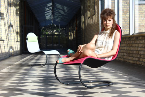Flipon Outdoor Chair by Kristofers Reidzans in home furnishings  Category