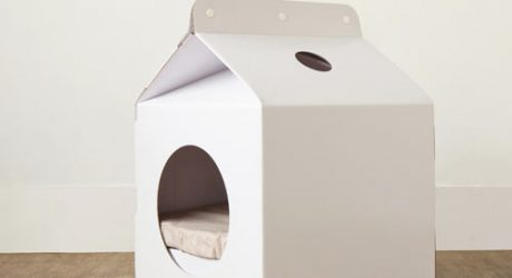 Milk Box Carton-Shaped Pet House