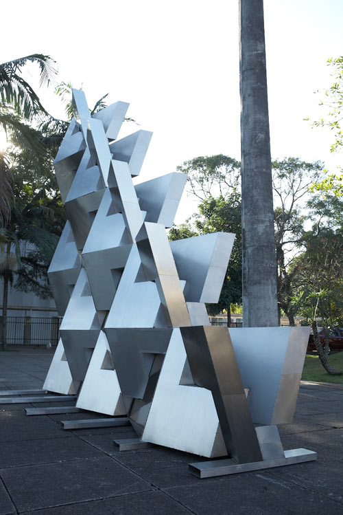 Reach: Metal QuaDror Sculpture by Dror Benshetrit in main art  Category