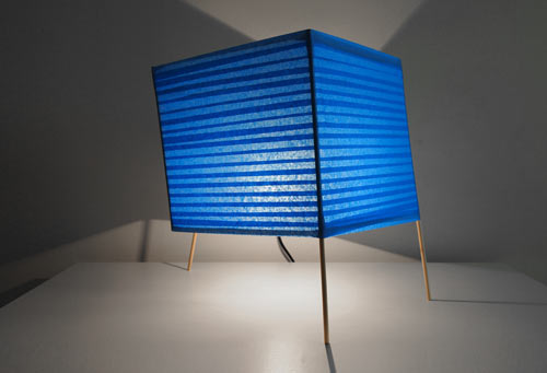 Dino Sanchez Builds A DIY Series of Lamps Inspired By ScotchBlue Painters Tape in technology style fashion sponsor main home furnishings art  Category
