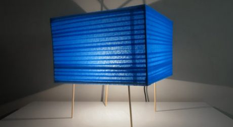 Dino Sanchez Builds A DIY Series of Lamps Inspired By ScotchBlue Painter's Tape