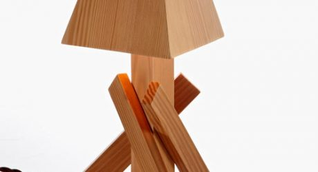Shanty Lamp by Paul Loebach for Areaware