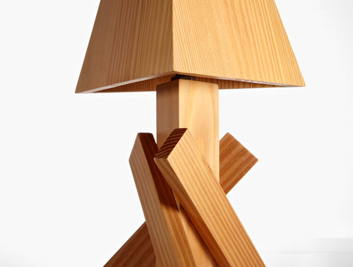 Shanty Lamp by Paul Loebach for Areaware in home furnishings  Category