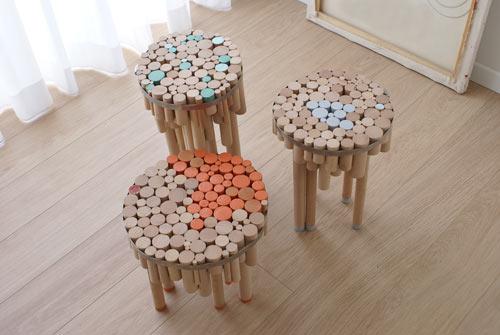 Chopped Tables by Yuval Tal
