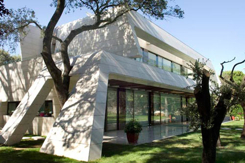House in Madrid by A cero Architects in architecture  Category