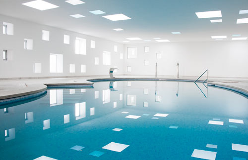 Hotel Pool and Spa by A2arquitectos