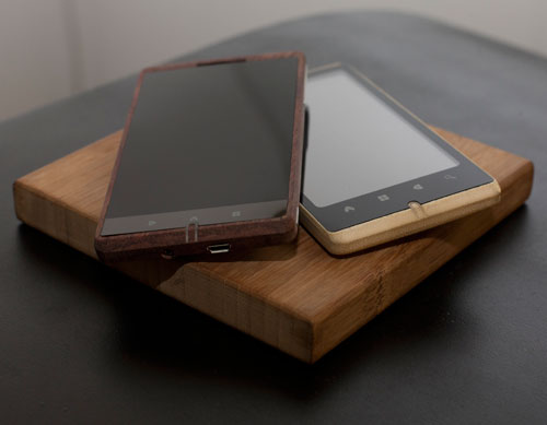 The Bamboo Smartphone by ADzero in technology main  Category
