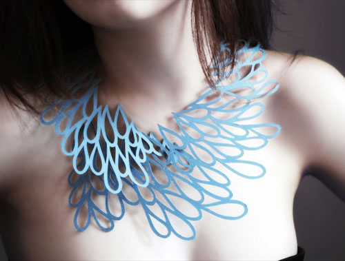 Air Tattoo Jewelry Made from Paper by Logical Art in style fashion main  Category