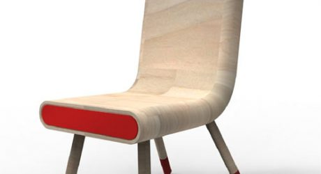 Break For Emergency: Anti Crise Chair by Pedro Gomes