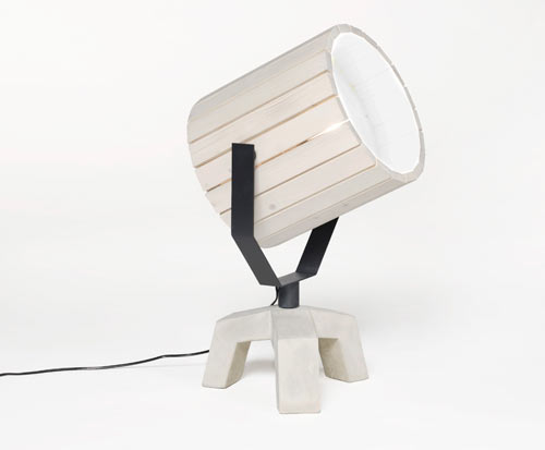 The Barrel Lamp by Nieuwe Heren for New Duivendrecht in home furnishings  Category