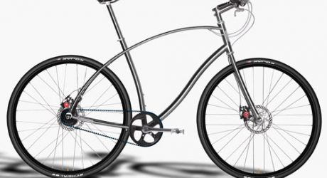 Titanium and Steel Urban Bicycles by Paul Budnitz