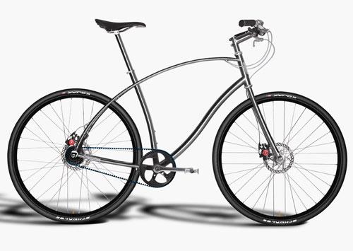 Titanium and Steel Urban Bicycles by Paul Budnitz