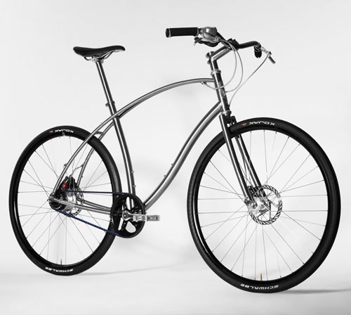 Titanium and Steel Urban Bicycles by Paul Budnitz in technology style fashion main  Category