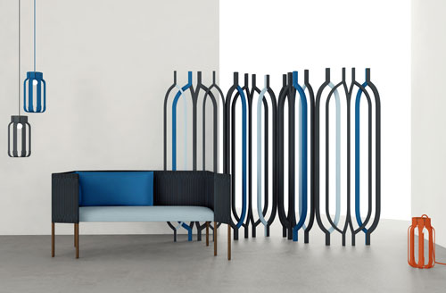 Lebanese Inspired Furniture Collection by Charles Kalpakian for Dar en Art