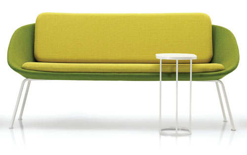 Two Tone Dishy Sofa and Chair by David Fox in home furnishings  Category