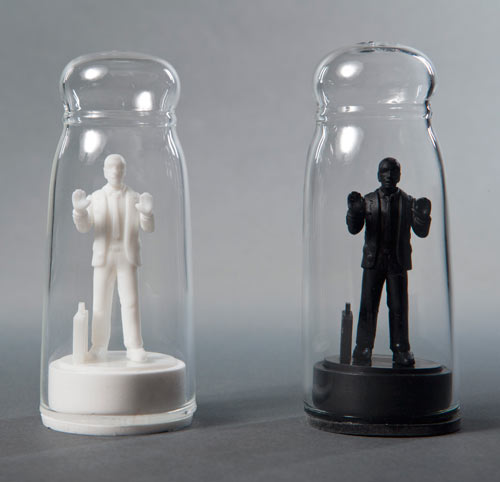 Drowning in Debt Salt & Pepper Shakers by Sebastian Errazuriz