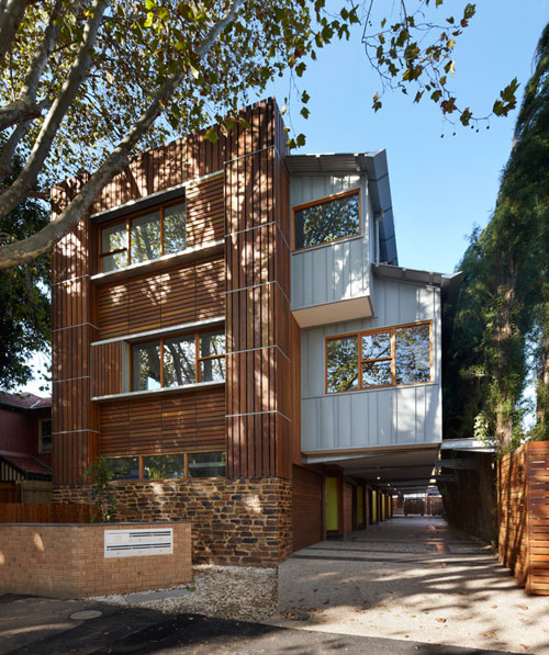 Elwood Modern Townhouses by Marcus O'Reilly Architects