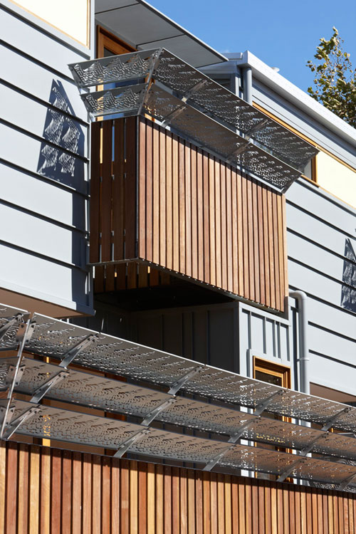 Elwood Modern Townhouses by Marcus OReilly Architects in main architecture  Category
