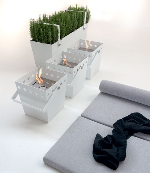 Falper Fireplaces and Planters