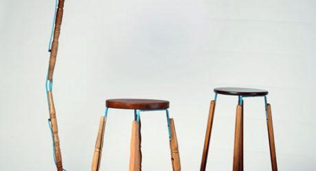 Jason Lloyd Fletcher Turns Unwanted Materials into New Furniture