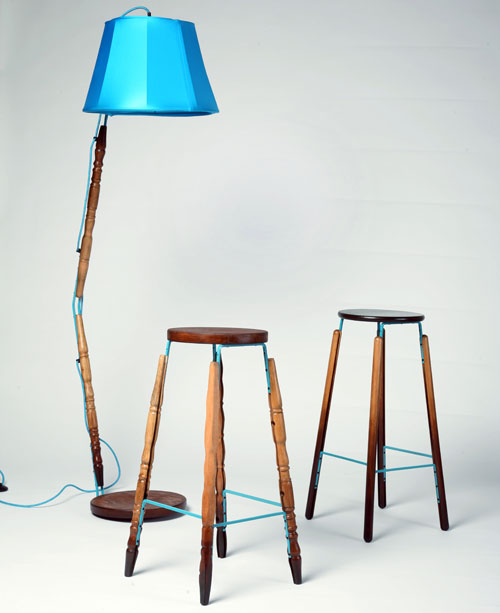 Jason Lloyd Fletcher Turns Unwanted Materials into New Furniture