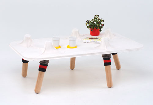 Furniture Inspired by Your Socks by Greg Papove in main home furnishings  Category