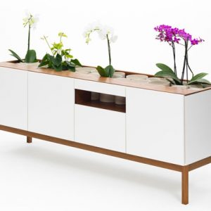 Credenza O & Console O Oak Storage Pieces by JiB design studio