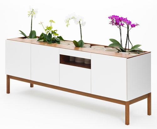 Credenza O & Console O Oak Storage Pieces by JiB design studio