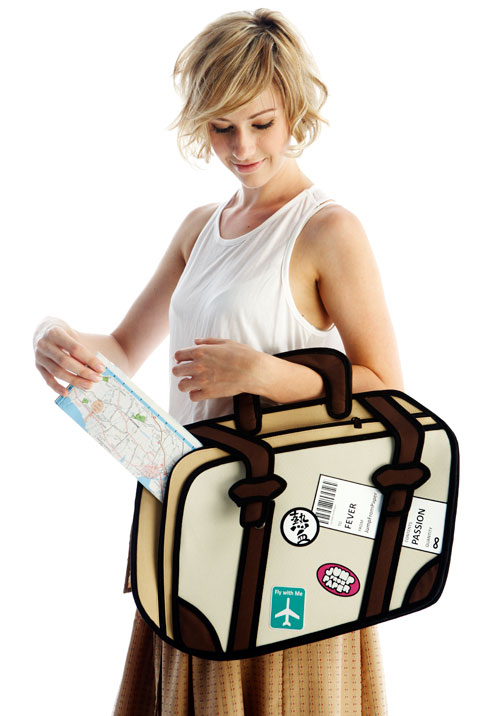 Travel Fever Bag by Jump From Paper