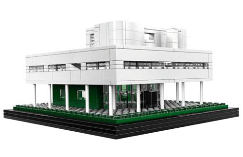 LEGO Architecture: Villa Savoye