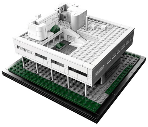LEGO Architecture: Villa Savoye in style fashion architecture  Category
