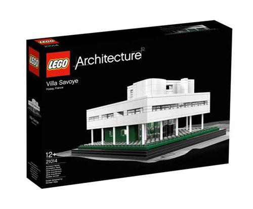 LEGO Architecture: Villa Savoye in style fashion main architecture  Category