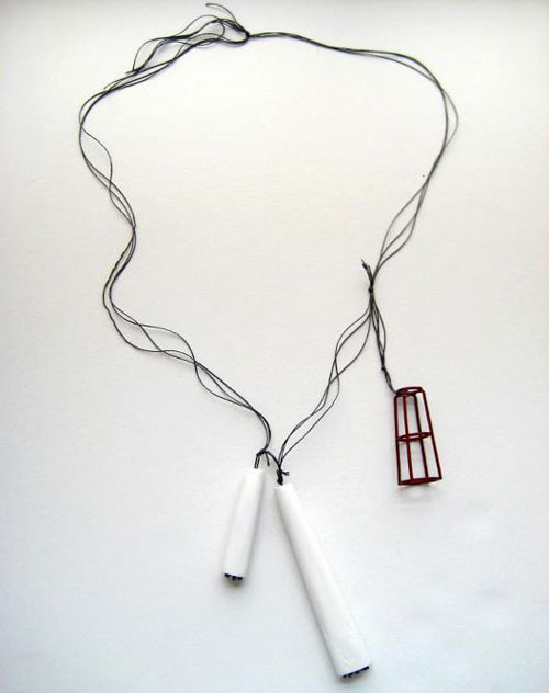 Bauhaus Inspired Contemporary Jewelry by Lauren Markley