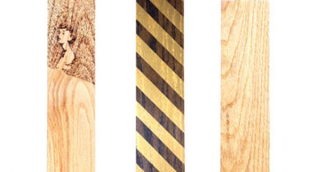 LEBORED Limited Edition Wood Vases