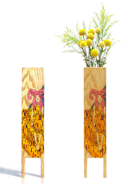 LEBORED Limited Edition Wood Vases in main home furnishings art  Category